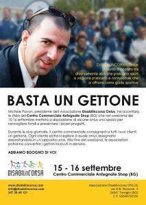 Un gettone per Disabilincorsa @ Antegnate Gran Shopping | Antegnate | Lombardia | Italia