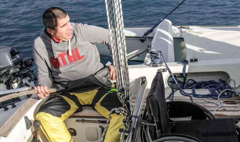 Libero nel vento, Marco, IL PRIMO skipper in carrozzina