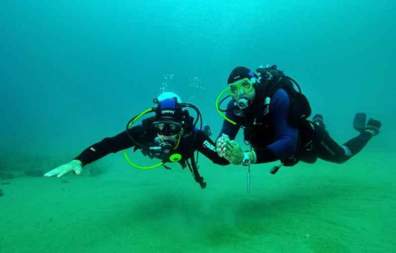 In fondo al mare, anche se cieco, per Stefano non ci sono barriere