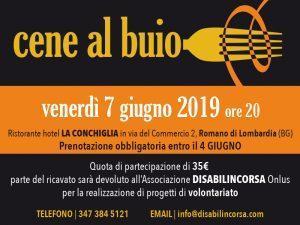 Come partecipare ad una cena al buio in provincia di Bergamo @ Ristorante Hotel La Conchiglia