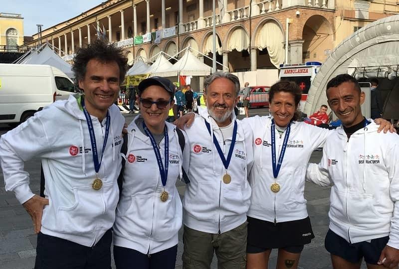 Chiara, atleta non vedente, finisher Passatore 2018