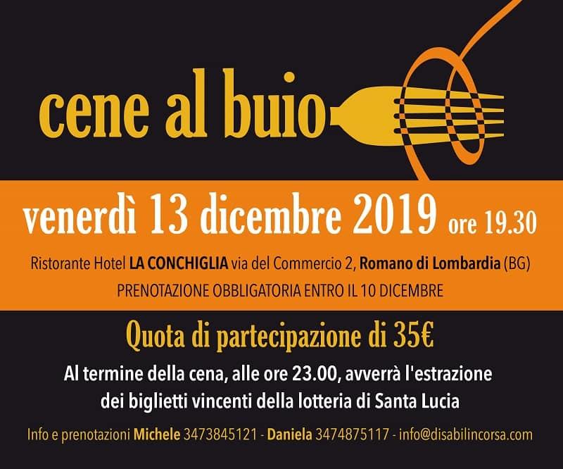 locandina cena al buoi 13 dicembre 2019